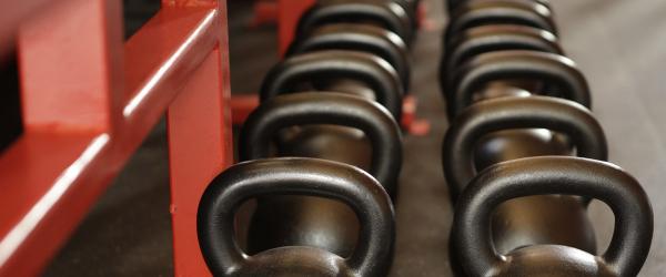 Gewichten kettlebells